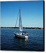 Sailboat Canvas Print by Bruce Kessler