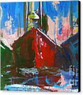 Sailboat Canvas Print by Patricia Awapara