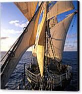 Sailing Boats Kruzenshtern Canvas Print by Anonymous