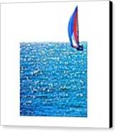 Sailing Canvas Print by Brian D Meredith