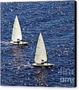 Sailing Canvas Print by Lars Ruecker