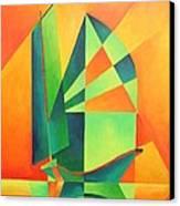Sails At Sunrise Canvas Print