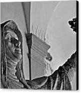 Saint Catherine Of Siena Canvas Print by Leslie Lovell