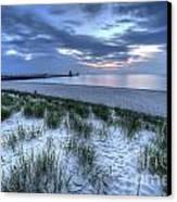 Saint Joseph Michigan Lighthouse Canvas Print by Twenty Two North Photography