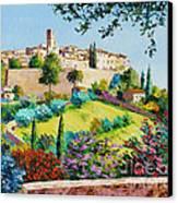 Saint Paul De Vence Canvas Print