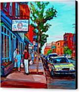 Saint Viateur Bagel Shop Canvas Print