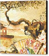 Sakura Canvas Print by Mo T