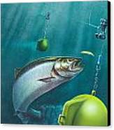 Salmon Dowrigger Canvas Print