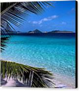 Saloman Beach - St. John Canvas Print by Stephen  Vecchiotti