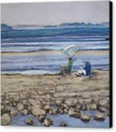 Saltair Canvas Print by Grace Keown