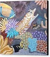 Salty Sea Canvas Print