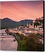 Salzburg 02 Canvas Print by Tom Uhlenberg