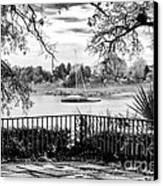 Sampit River View Canvas Print by John Rizzuto