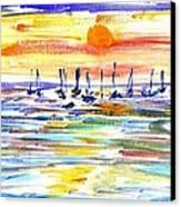 San Antonio Bay Canvas Print