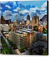 San Antonio Canvas Print by Cary Shapiro