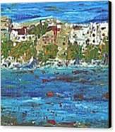 San Antonio Ibiza Canvas Print