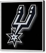 San Antonio Spurs Canvas Print by Tony Rubino