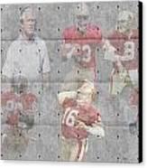 San Francisco 49ers Legends Canvas Print