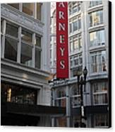 San Francisco Barneys Department Store - 5d20544 Canvas Print
