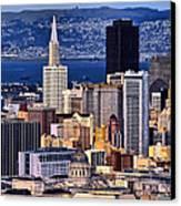 San Francisco Canvas Print by Camille Lopez