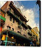 San Francisco - Chinatown 003 Canvas Print by Lance Vaughn