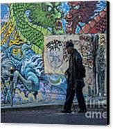 San Francisco Chinatown Street Art Canvas Print