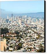 San Francisco City Vista Canvas Print by Artist and Photographer Laura Wrede