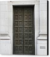San Francisco Emporio Armani Store Doors - 5d20538 Canvas Print