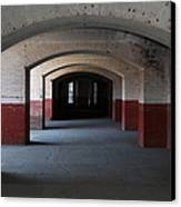 San Francisco Fort Point 5d21544 Canvas Print by Wingsdomain Art and Photography