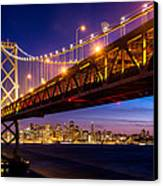 San Francisco - Under The Bay Bridge Canvas Print