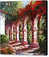 San Juan Capistrano Mission Canvas Print