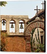 San Juan Capistrano Mission - Photography By Jo Ann Tomaselli Canvas Print