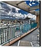 San Juan Puerto Rico Hdr Cityscape Canvas Print by Amy Cicconi