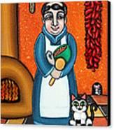 San Pascual And Felix Canvas Print by Victoria De Almeida