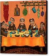 San Pascuals Table Canvas Print by Victoria De Almeida