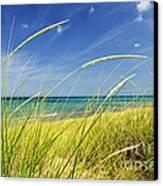 Sand Dunes At Beach Canvas Print