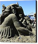 Sand Sculpture 1 Canvas Print