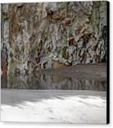 Sandstone Cave V2 Canvas Print