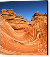 Sandstone Surf Canvas Print by Adam Jewell