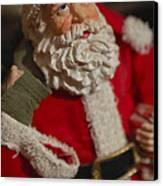 Santa Claus - Antique Ornament - 02 Canvas Print