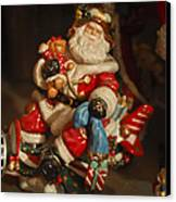 Santa Claus - Antique Ornament -05 Canvas Print