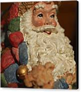 Santa Claus - Antique Ornament - 09 Canvas Print by Jill Reger