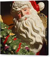 Santa Claus - Antique Ornament - 10 Canvas Print by Jill Reger