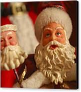 Santa Claus - Antique Ornament - 12 Canvas Print