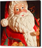Santa Claus - Antique Ornament - 13 Canvas Print by Jill Reger