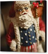 Santa Claus - Antique Ornament - 15 Canvas Print