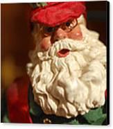 Santa Claus - Antique Ornament - 16 Canvas Print