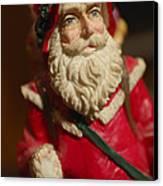 Santa Claus - Antique Ornament - 21 Canvas Print