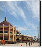 Santa Cruz Beach Boardwalk California 5d23748 Canvas Print by Wingsdomain Art and Photography