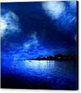 Santa Cruz Evening 2 Canvas Print by Cary Shapiro